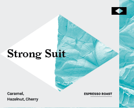 Strong Suit Coffee Label