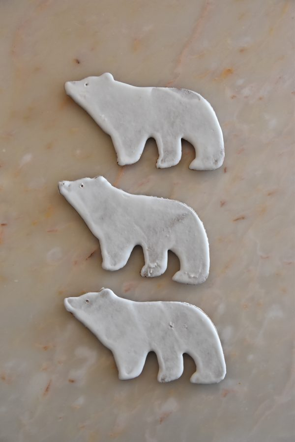 3 Polar Bear Biscuits