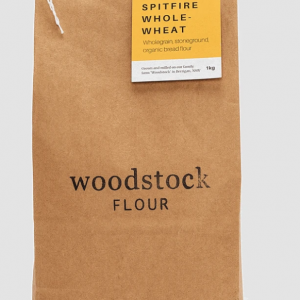 1 bag of Woodstock Spitfire Whole-wheat flour
