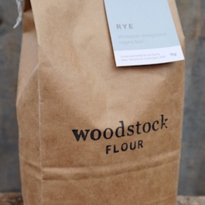 1 bag of Woodstock Rye flour