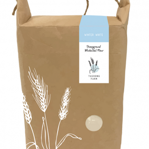 1 bag of Stoneground Wholemeal Winter White flour