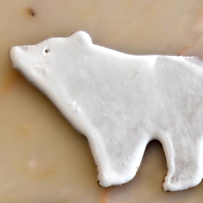 polar bear biscuits